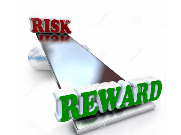 A delicate balance between risk and reward